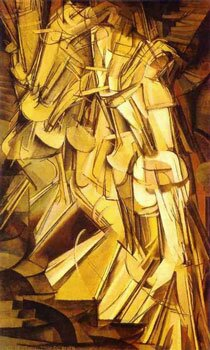 Marcel Duchamp - Nude Descending a Staircase (No2)