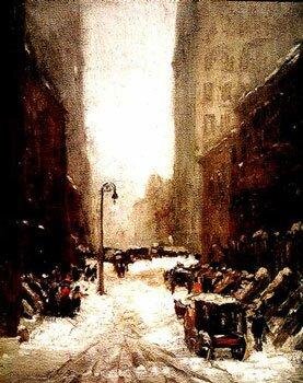 Robert Henri - Snow in New York