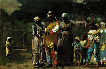 Winslow Homer - Dressing for the Carnival